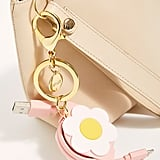 Daisy Retractable Charging Keychain