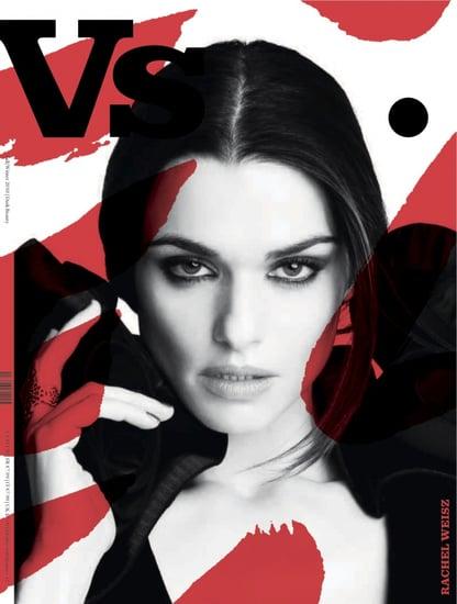 Rachel Weisz covers Vs. Magazine F/W 2010