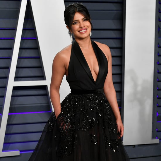 Priyanka Chopra Elie Saab Dress at Vanity Fair Oscars Party