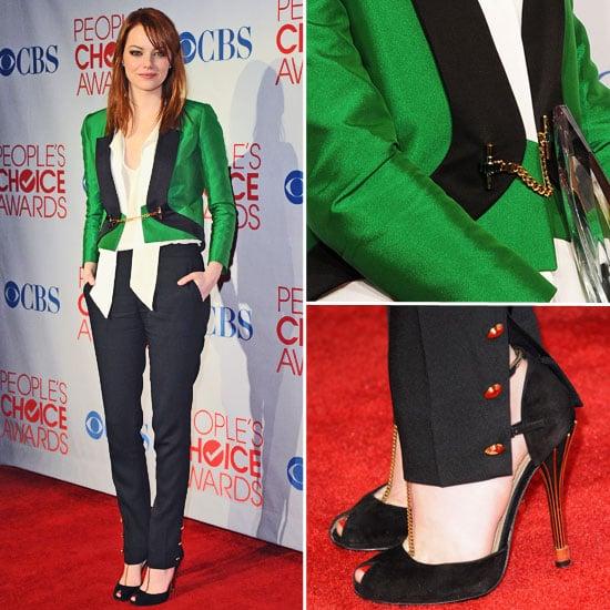 Emma Stone at 2012 People's Choice Awards