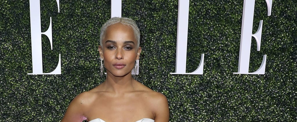 Zoë Kravitz's Hairstyle Looks Like a Simple Ponytail —Until She Turns Around
