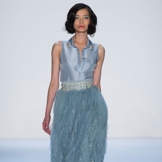 2014 Spring New York Fashion Week Runway Badgley Mischka