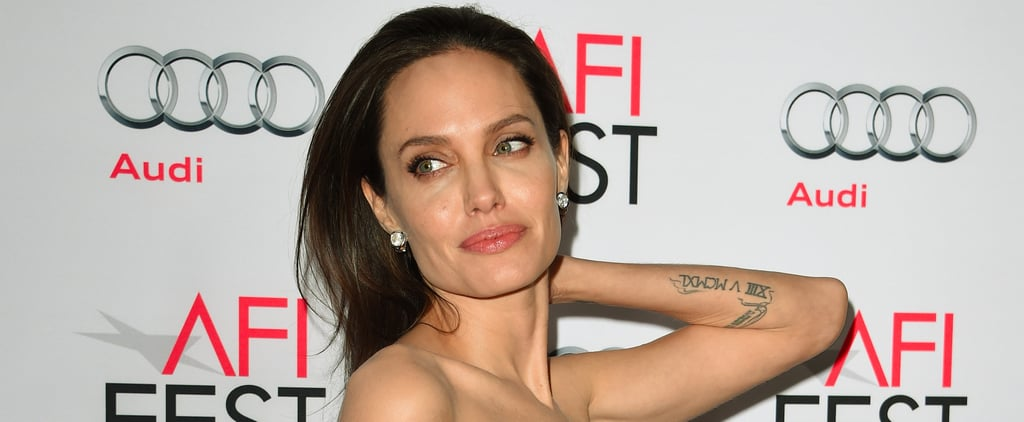 A Much-Needed Breakdown of Angelina Jolie's Tattoos