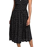 Roxy Retro Poetic Polka Dot Dress
