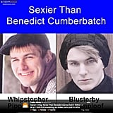 "Funnyman Conan O'Brien asks, ""Are these Brits sexier than Benedict Cumberbatch?"""