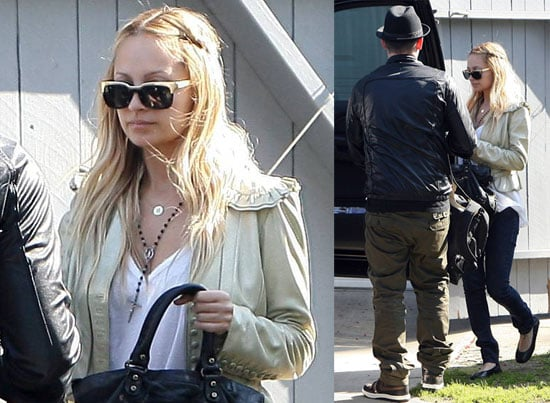 Nicole Richie and Joel Madden Out in LA 2008-03-05 10:00:49
