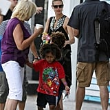 Pictures of Heidi Klum and Kids