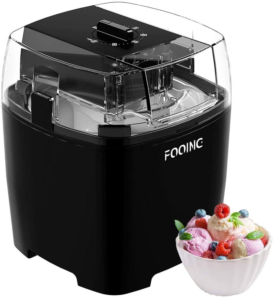 Fooing Countertop Homemade Ice Cream Maker 1.5 Quart