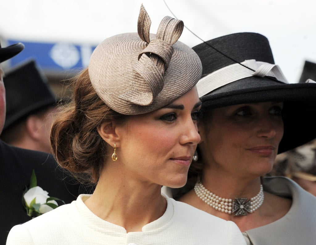 Prince William and Lovely Kate Middleton Join the Queen and Family at the Epsom Derby