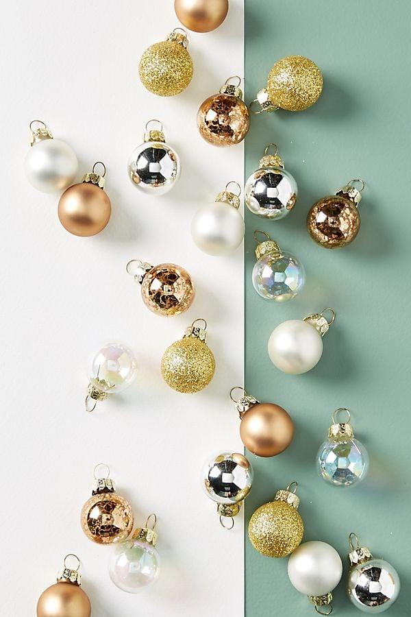 Miniature Copper Ornaments, Set of 24