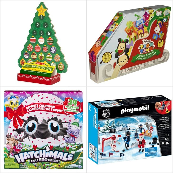 Best Advent Calendars For Kids 2018 POPSUGAR Family