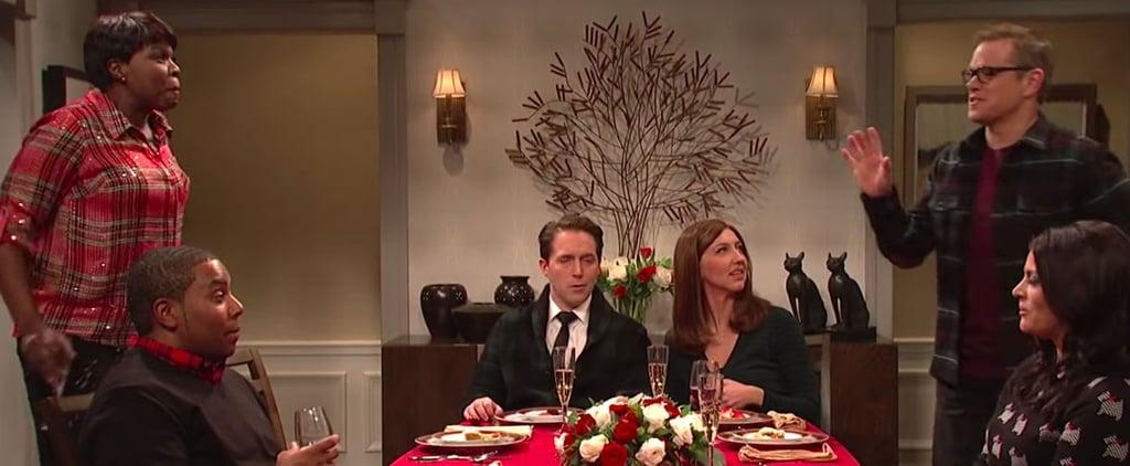 Matt Damon's Weezer Sketch on Saturday Night Live Video