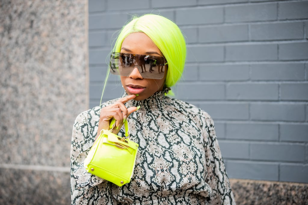 Spring 2020 Hair Color Trend: Glow-in-the-Dark Neons