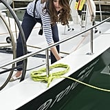 Princess Kate gets put to work!