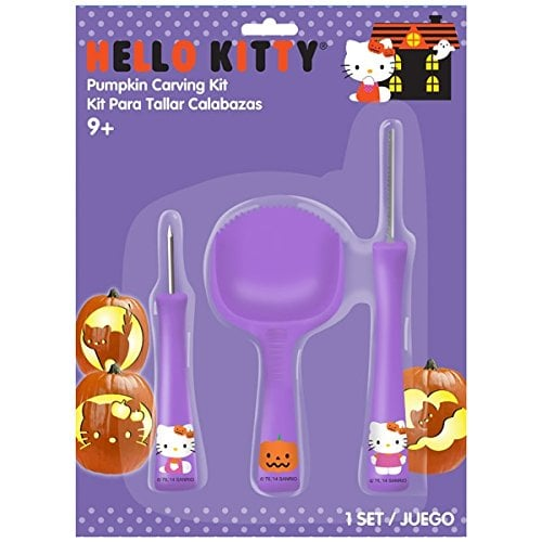Gemmy Hello Kitty Pumpkin Carving Kit