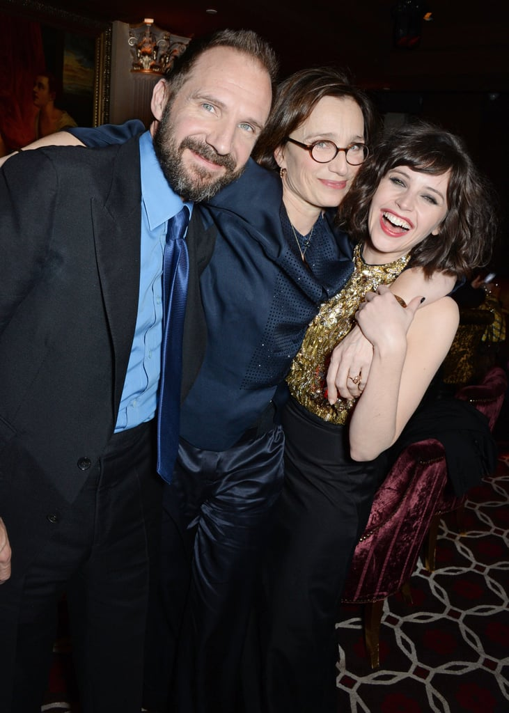 on monday ralph fiennes kristin scott thomas and