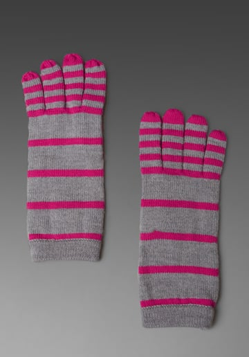 Marc By Marc Jacobs Sadie Stripe Gloves  ($59)