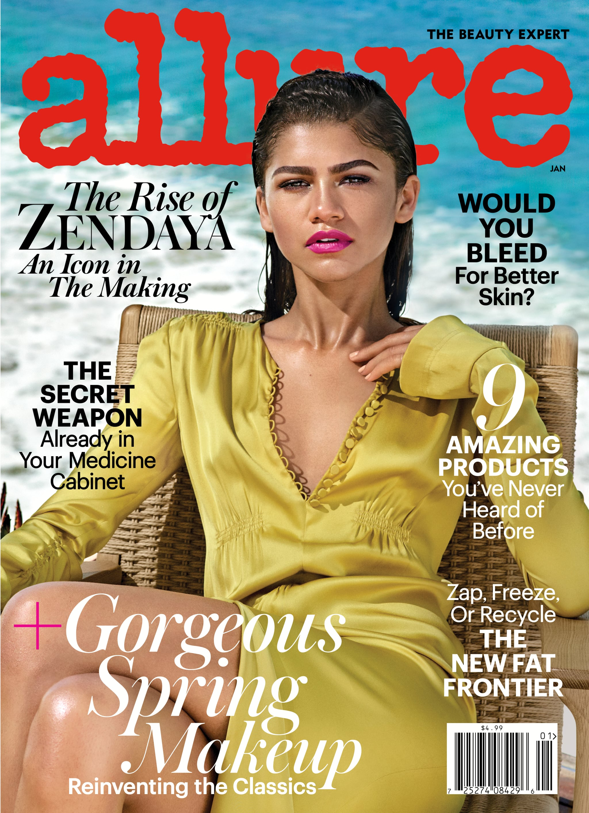 Zendaya has evolved from a tween star to a full-on beauty icon, making her  the perfect cover star for Allure's first issue of 2017. The 20-year-old  starlet ...