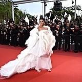 Aishwarya Rai Bachchan's White Dress at Cannes 2019