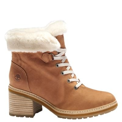 Timberland Women's Sienna High Shearling Waterproof Boots