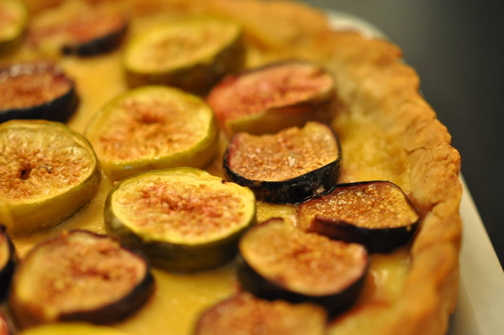 Photos of a Fig Tart