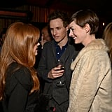 Anne Hathaway and Les Miserables Cast at Vanity Fair Party