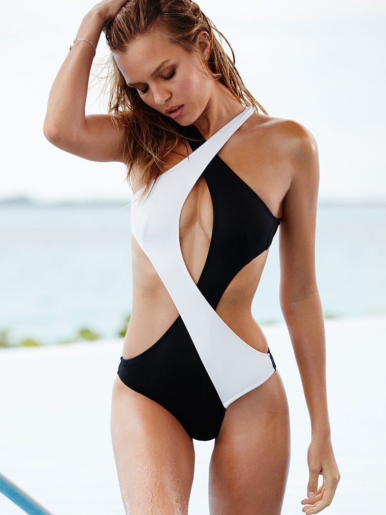 Victoria's Secret Surf Wrap One-Piece ($66, originally $88)