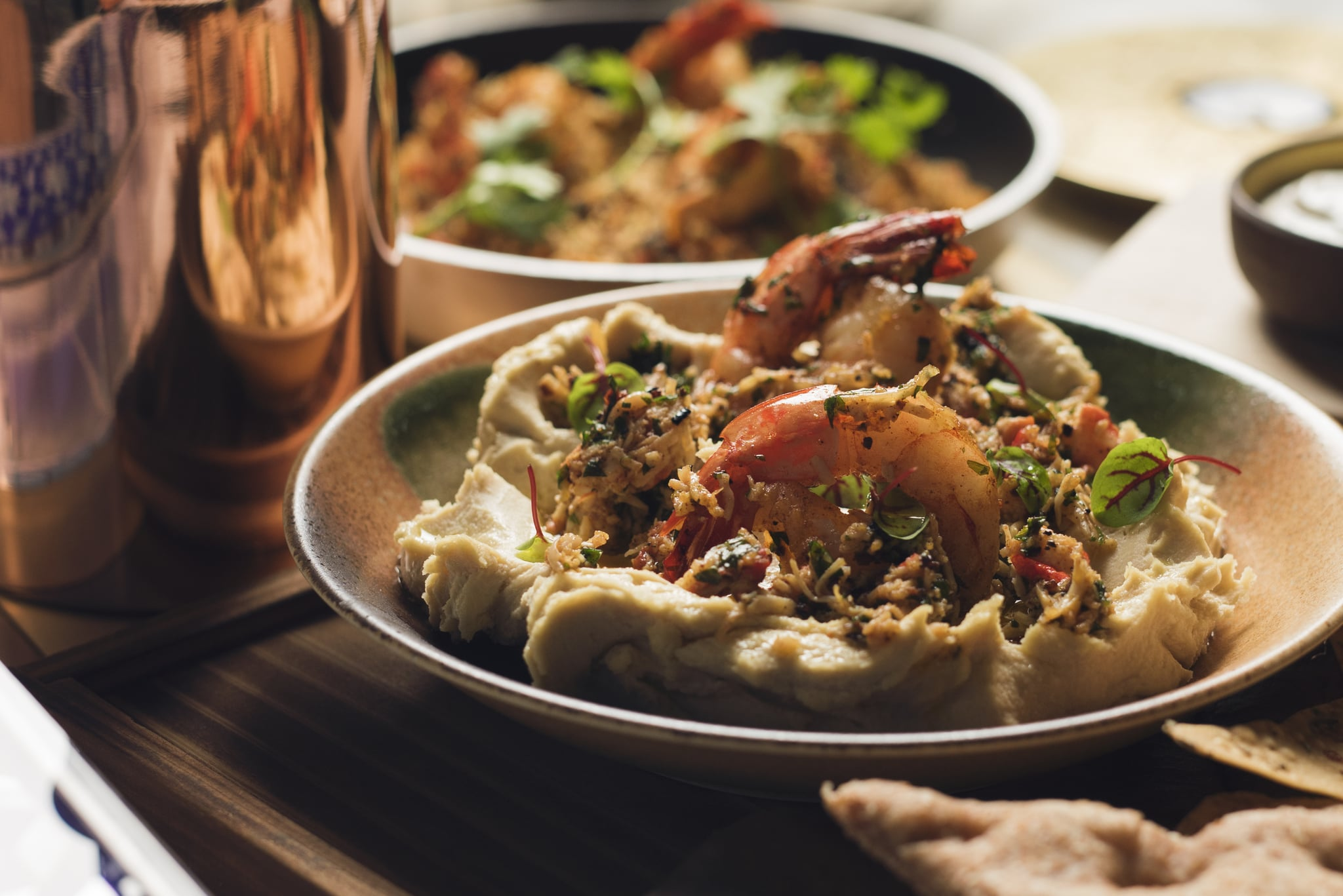 Play restaurant dubais hummus with cajun crustacean recipe play restaurant dubais hummus with cajun crustacean recipe popsugar middle east food forumfinder Image collections