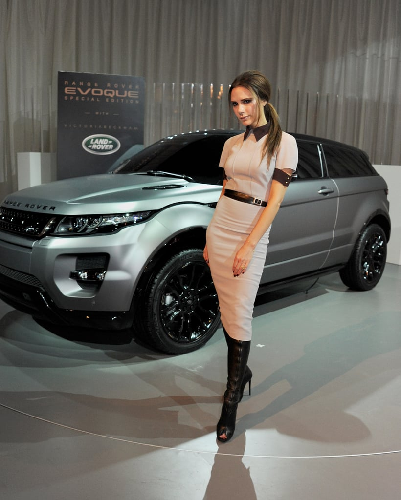 Victoria Beckham Goes Chic in China to Launch Her Special-Edition Land Rover