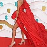 Vick Hope at the EE British Academy Film Awards 2020