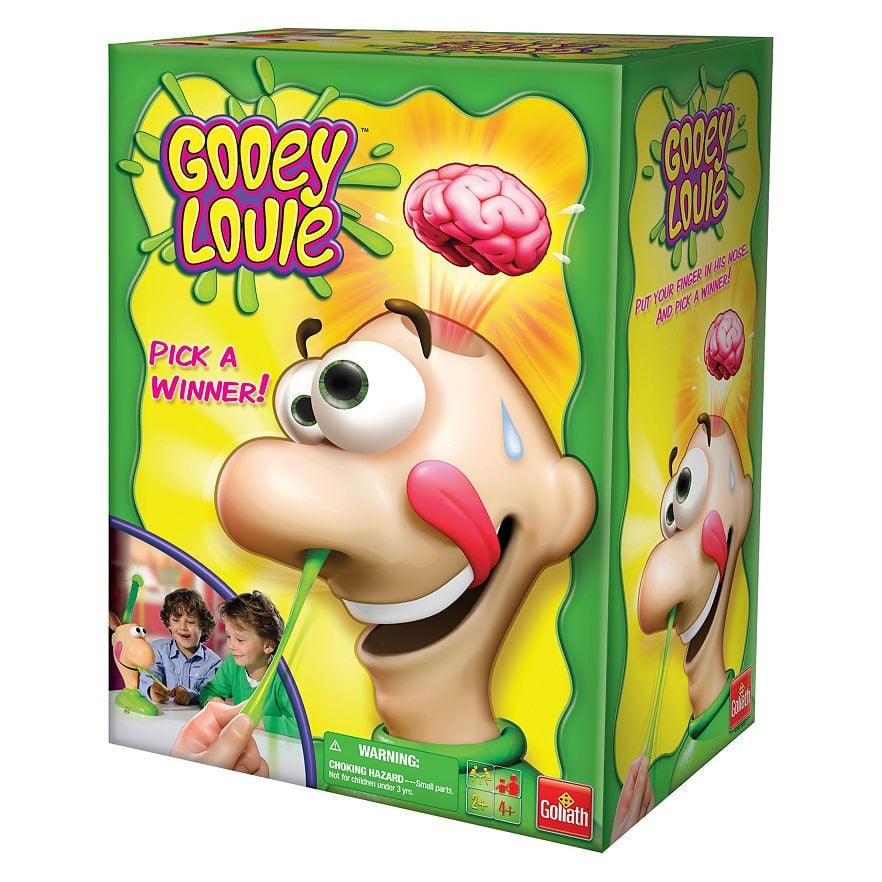 For 4-Year-Olds: Gooey Louie