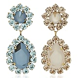 Roxanne Assoulin Over the Top Mismatched Crystal Earrings
