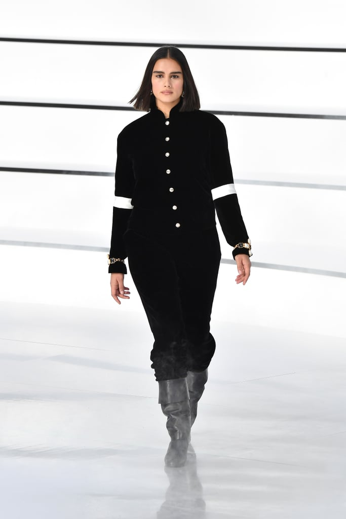 Jill Kortleve in the Chanel Fall 2020 Runway Show
