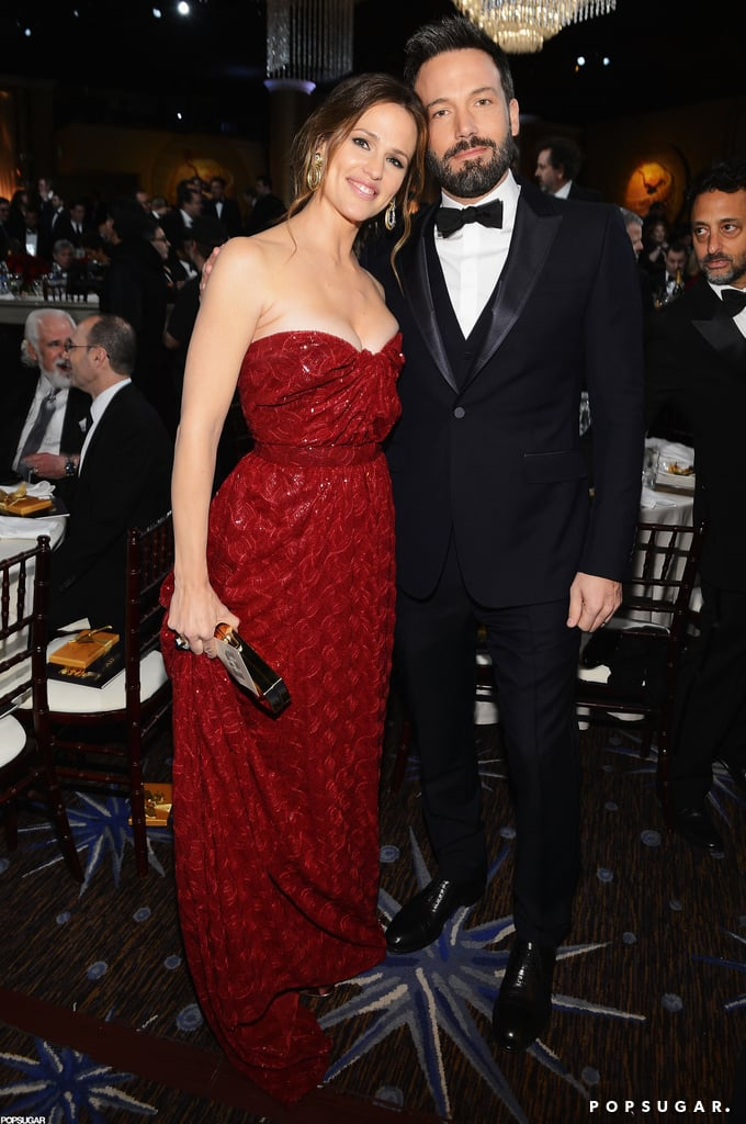 Jennifer Garner and Ben Affleck were glowing at the Globes in January 2013.