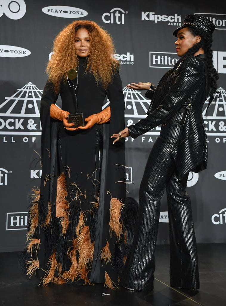 Janet Jackson at Rock and Roll Hall of Fame Ceremony 2019
