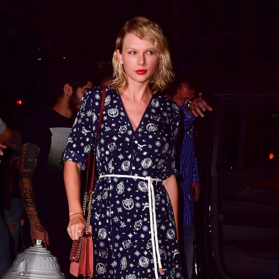 Taylor Swift Wearing a Tommy x Gigi Dress September 2016