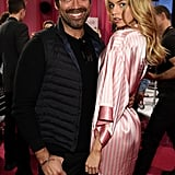 Pictured: Brian Atwood and Stella Maxwell