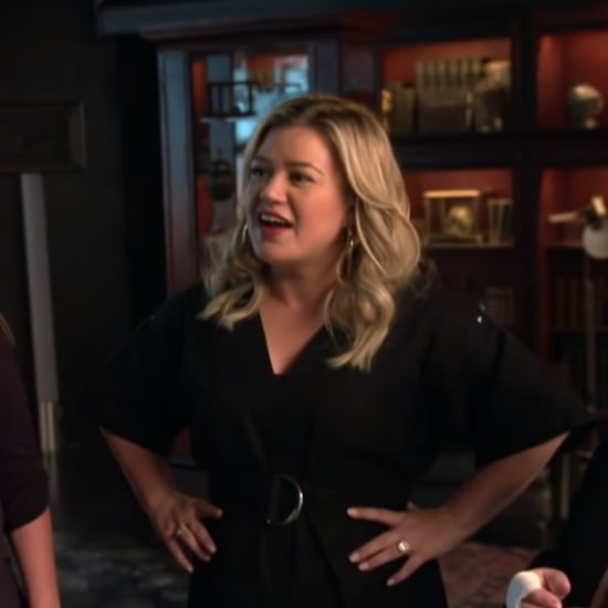 Kelly Clarkson Visits the Lucifer Set With Her Family Video