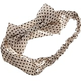 Diva Spotty Bow Headband, $7.99