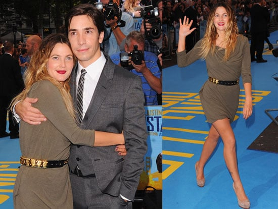 Drew Barrymore and Justin Long at the London Premiere of Going the Distance 2010-08-19 19:30:05
