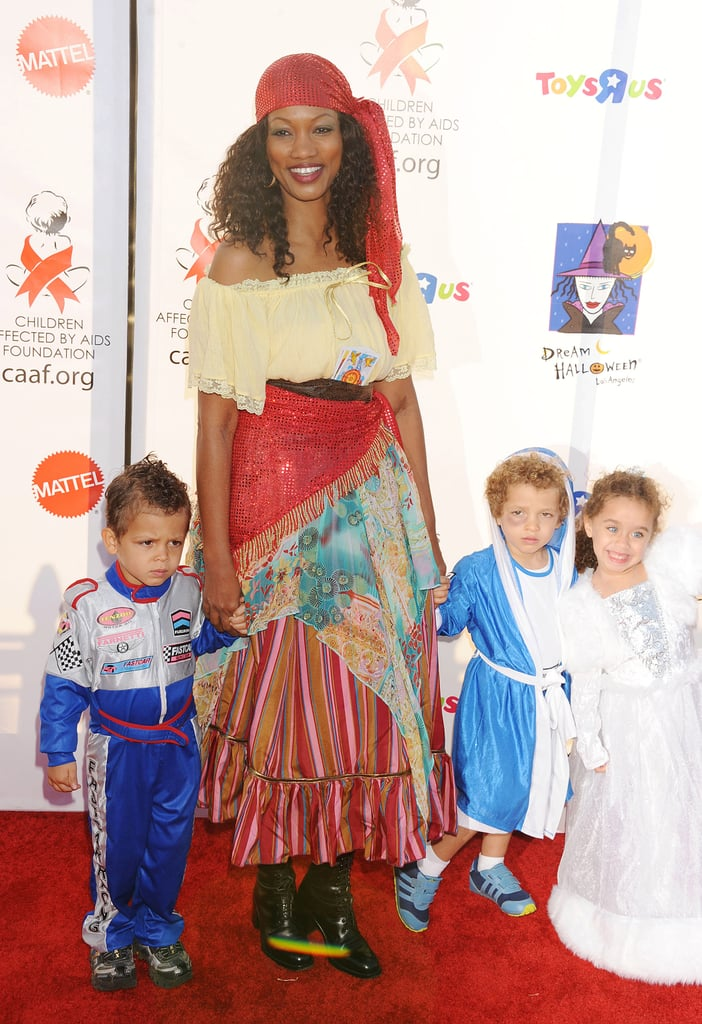 Garcelle Beauvais and Sons Jax and Jaid Nilon