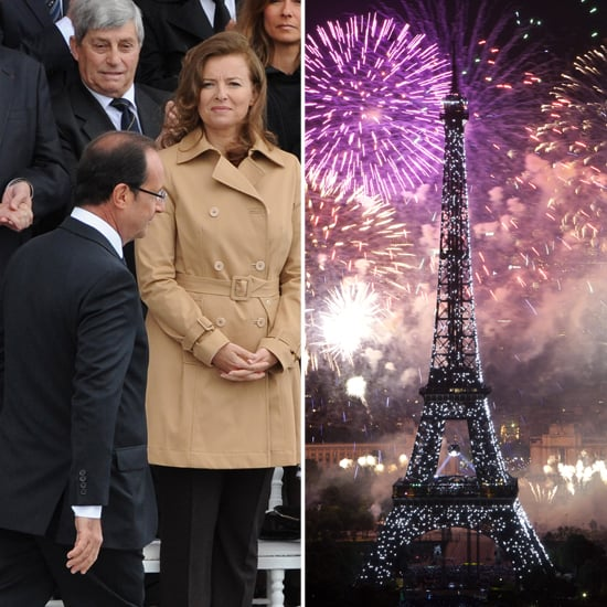 Valerie Trierweiler Marks Her First Bastille Day as France's First Lady