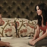 Josh Hopkins and Courteney Cox on Cougar Town.