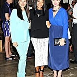 At the Vogue bash, Phoebe Stephens, Monique Pean, and Annette Stephens were among the stylish attendees.