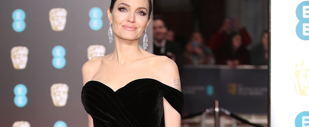 Angelina Jolie Has 1 Red Carpet Look She Goes Back to Again and Again