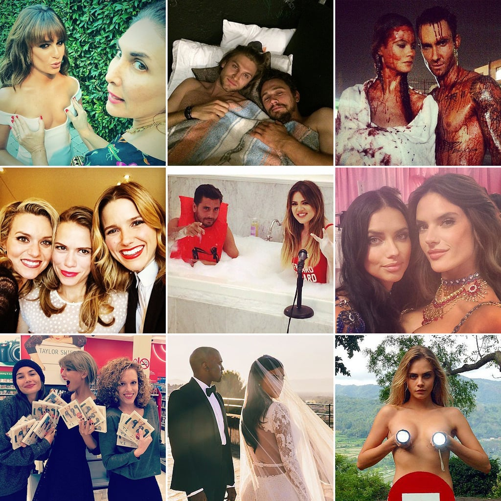 Best of 2014 Celebrity Instagram Candids