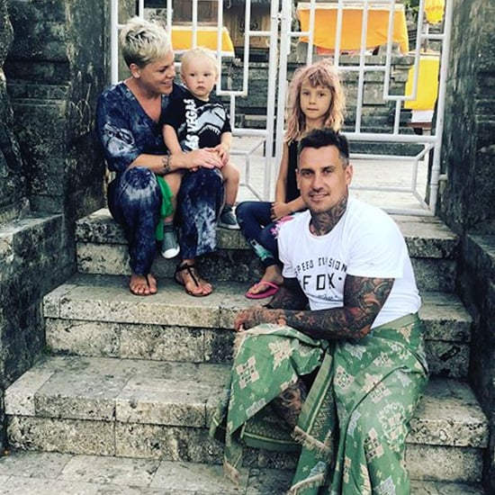 Pink and Carey Hart's Family Vacation in Bali Pictures 2018