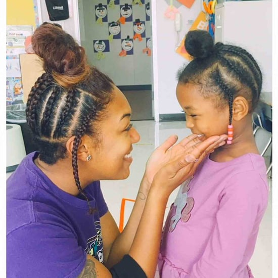 Texas Teacher Wears the Same Hairstyle as Student