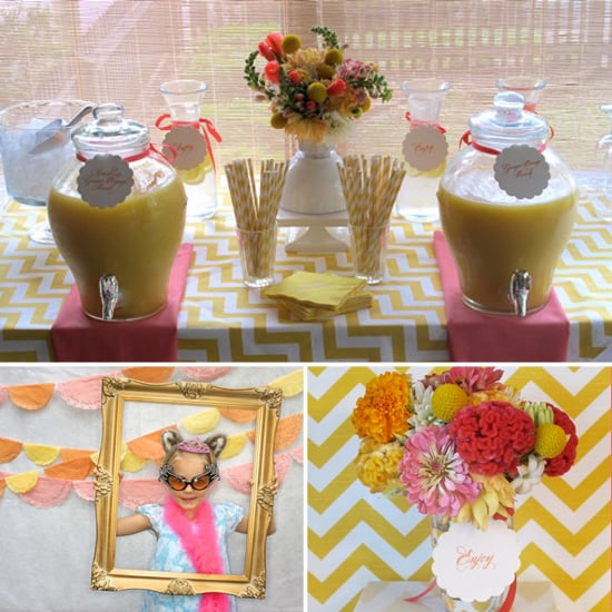 The Bright and Cheerful Baby Girl Shower That Almost Didn't Happen