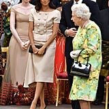 Meghan's Prada Look at the Queen's Young Leaders Awards